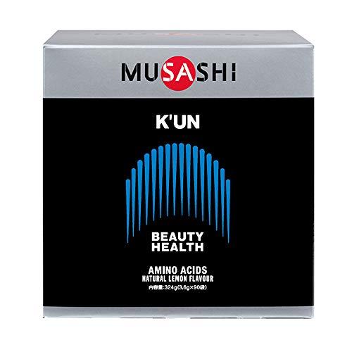 ムサシ クン MUSASHI KUN スティック 3.6g×90本 美容と健康 シェイプアップ 90袋 箱付き